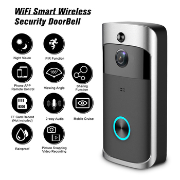 1080P Video Intercom Wireless Video Door Phone Visual WI-FI Door Bell WIFI Doorbell Camera for Apartments IR Alarm Security 1