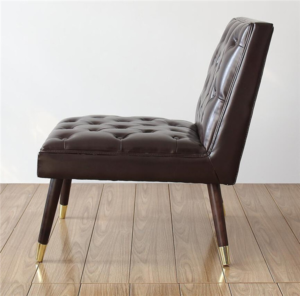 Modern Tufted Accent Chair  4