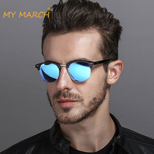 Vintage Polarized Sunglasses Men Women Classic Brand Designer Sun Glasses For Men Retro Driving Mirror Glasses Oculos UV400 цена 2017