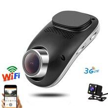 3G Đầu Ghi Hình DVR Xe Ô Tô Wifi Dvrs Dual Camera Kỹ Thuật Số Registrator Cho Xe Hơi Dashcam Đầu Ghi Hình Máy Quay Phim Full HD 1080P Đêm Phiên Bản