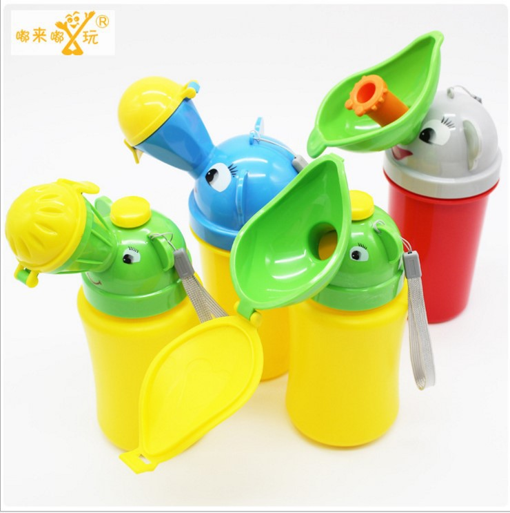 Infant Urinal Car Mounted Portable Urinal Men And Women Baby Leak-Proof Children Chamber Pot Supplies