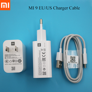 USB зарядное устройство Xiaomi 27 Вт EU/US, кабель Type C, быстрое зарядное устройство Turbo для Mi 9 se CC9 Pro CC9e mix 2 2S 3 max 2 3 4 Redmi K20 Pro K30