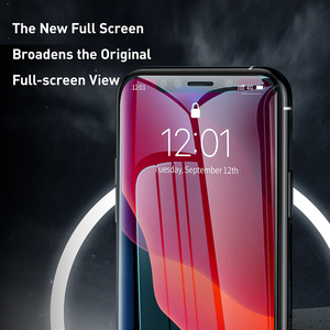 Image 2 - Baseus 0.3mm Full Coverage Protective Glass For iPhone 11 Pro Max Tempered Glass Screen Protector For iPhone 11 Pro Glass