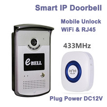720P Smart Wireless WIFI IP Doorbell Two Way Intercom Video Door Phone