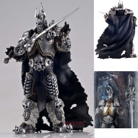 2019 game movie Anime figurine WOW Otono del rey examico Arthas menetil action figure collectible children toys