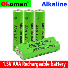 New Brand AAA 2100mah 1.5V Alkaline Battery AAA rechargeable battery for Remote Control Toy light Batery free shipping(China)