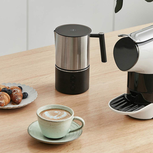 Image 5 - DEVISIB Automatic Milk Frother Electric Steamer Cappuccino Hot /Cold Coffee Stainless Steel Dishwasher Safe