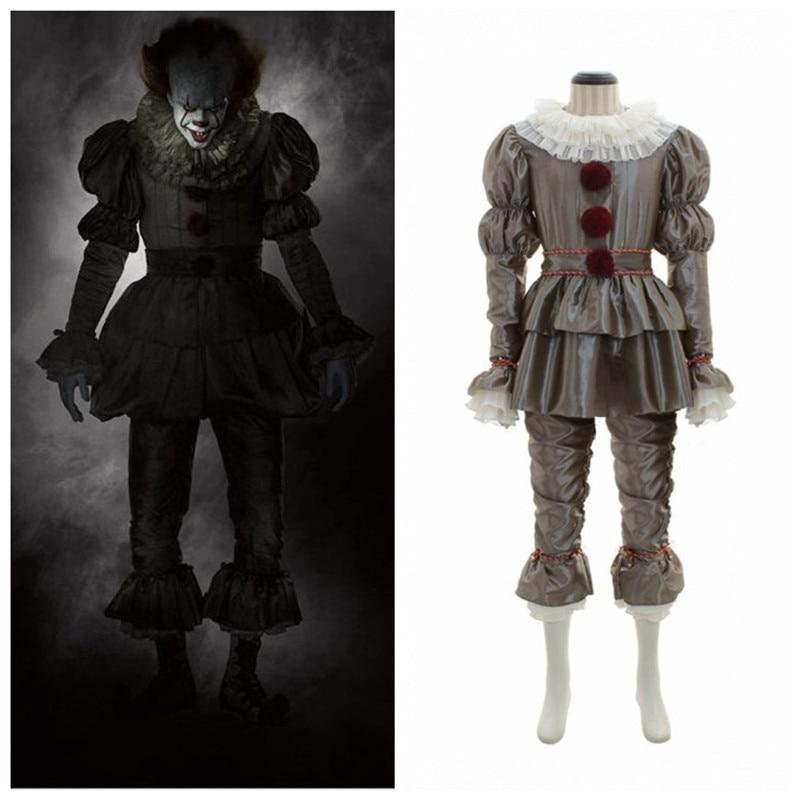 Joker Pennywise Mask Stephen King It Chapter Two 2 Horror Cosplay Latex Masks Helmet Clown Halloween Costumes For Women Men 2019