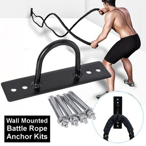 Wall Mounted Battle Rope Anchor Expansion Screws Fitness Training Yoga Bracket Hammocks Kit Fitness Equipment Accessories Swing