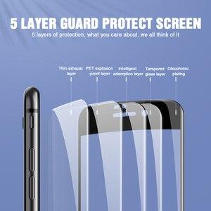 Image 4 - 100D vetro di Protezione su Per il iphone 7 8 6 6S Plus 5 SE Per il iphone X XR XS Max protezione dello schermo In vetro Temperato su iPhone 7 pellicola