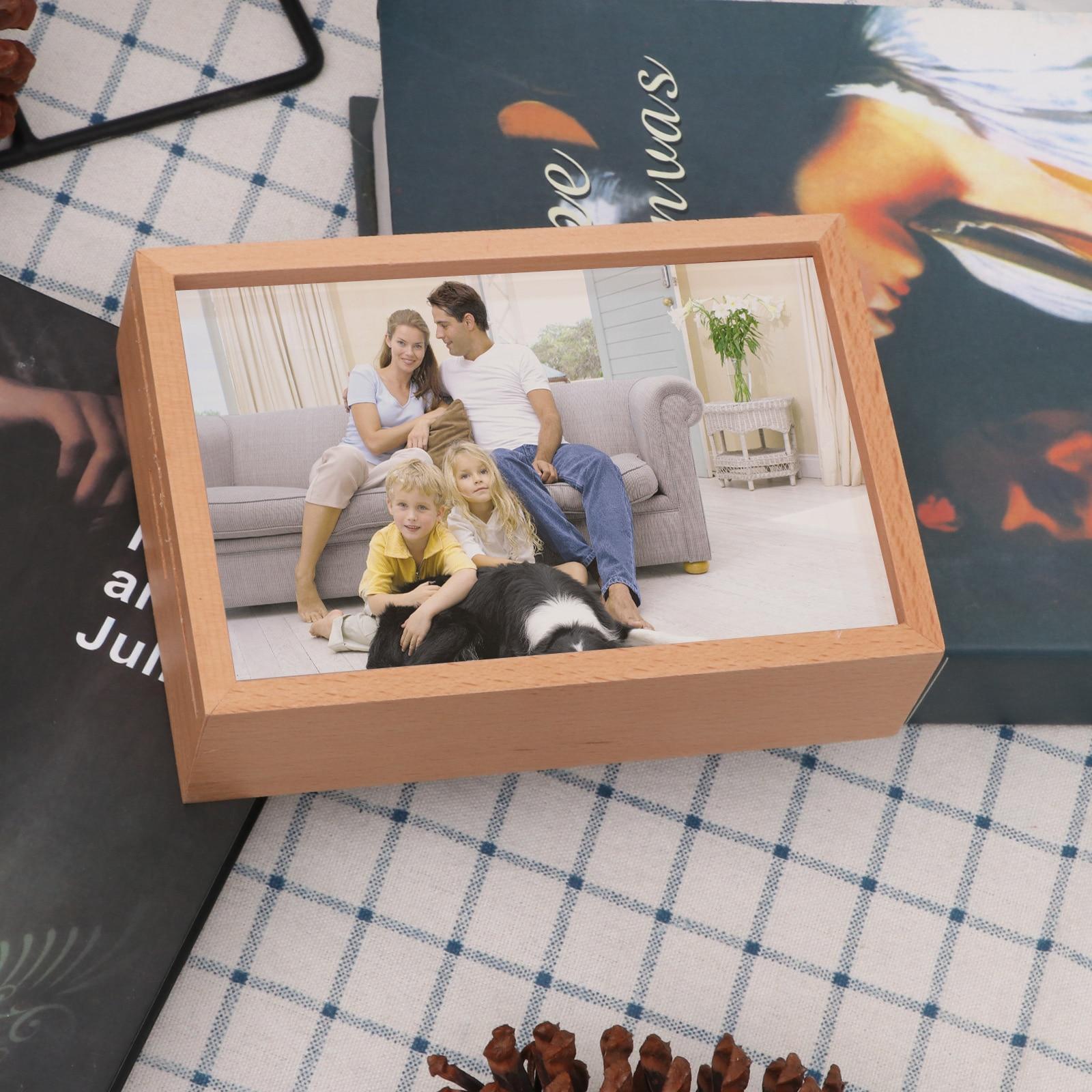 Фоторамка, копилка, копилка, монета для детей, рамка для картин, чехол для денег, новинка, деревянная копилка, подарок для детей, домашний дек...