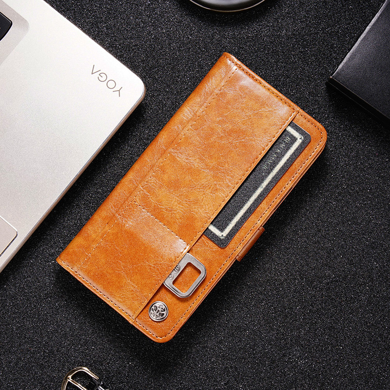 Luxury Flip Wallet Cases Multi-card Leather Phone Case For OPPO Realme XT X50 X2 X Q 5 3 2 1 Pro Reno RX 17 Z A 10X Zoom Cover