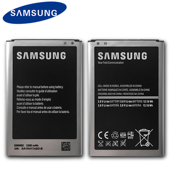 Original Samsung Battery B800BE For Galaxy Note 3 N900 N9006 N9005 N9000 N900A N900T N900P 3200mAh With NFC Mobile Phone Battery protective clear screen protector for samsung galaxy note 3 n9000 n9005 transparent 3 pcs