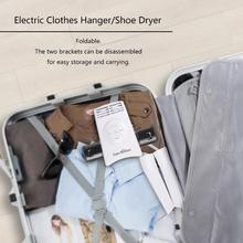 240V Foldable Clothes Hangers Timing Smart Hanger Dryer for Clothes Shoes Fast Drying Laundry Clothes Dryer Rack For Travel