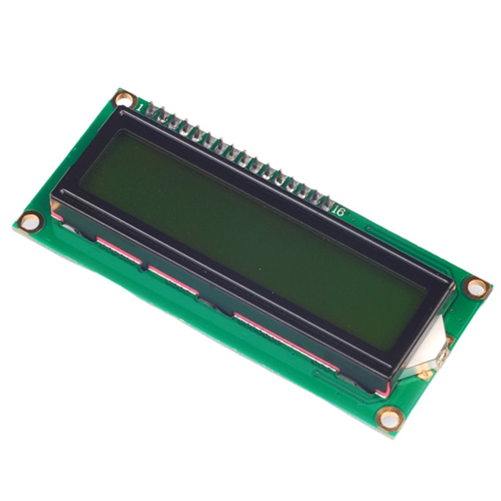 Yellow Green Screen Iic/I2C 1602 Lcd Module Provides Library Files Optical Display Module Ultra-Small Low-Power