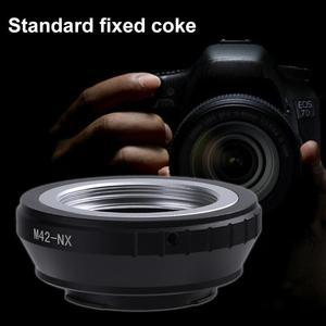 Image 3 - M42 NX de haute précision réglable objectif fileté M42 à monture NX anneau adaptateur dobjectif de caméra pour appareil photo Samsung NX11 NX10 NX5