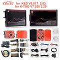 Для KESS V2.53 5,017 для KESS V5.017Version новая 4-светодиодная красная печатная плата KTAG 7,020 SW2.23 v2.25 полные протоколы без маркера ограничено