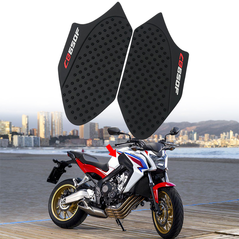 Motorcycle 3M Tank Pad Gas Anti slip Stickers Adhesive Rubber Traction Side Fuel Gas Grip Decal Protector For Honda CBR600RR 2013 2014 2015 2016