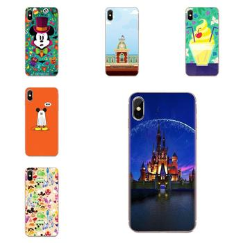 Mouse Minnie Parks Cartoon For Huawei Mate 9 10 20 P P8 P9 P10 P20 P30 P40 Lite Pro Smart 2017 Soft TPU 2017 New Arrival image