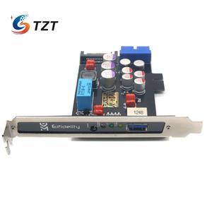 Image 5 - TZT Elfidelity AXF 100 USB כוח מסנן USB מחשב פנימי HiFi עבור אודיו שדרוג DIY