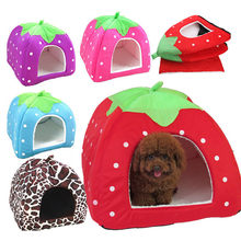 Dog house Pet dog Wave point house cat house Strawberry house Pet supplies New product Selling winter Dropshipping Accessori(China)