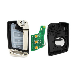 Image 2 - (1 قطعة) سيارة الوجه g البعيد مفتاح 434 ميجا هرتز مع ID48 رقاقة ل V W سكودا اوكتافيا A7 MQB جولف السابع Golf7 جولف MK7 2017 ليست الذكية