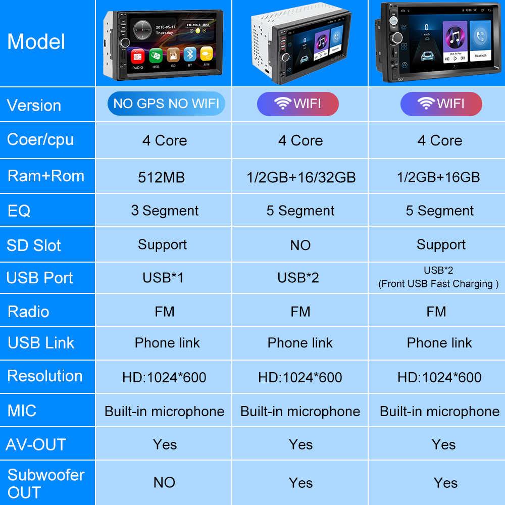 LEHX 2 Din Android 9.0 Ram2G + 32G otomobil radyosu araba multİmedya oyuncu VW Nissan Hyundai Kia toyota rav4 nissan t31 x-trail tiia