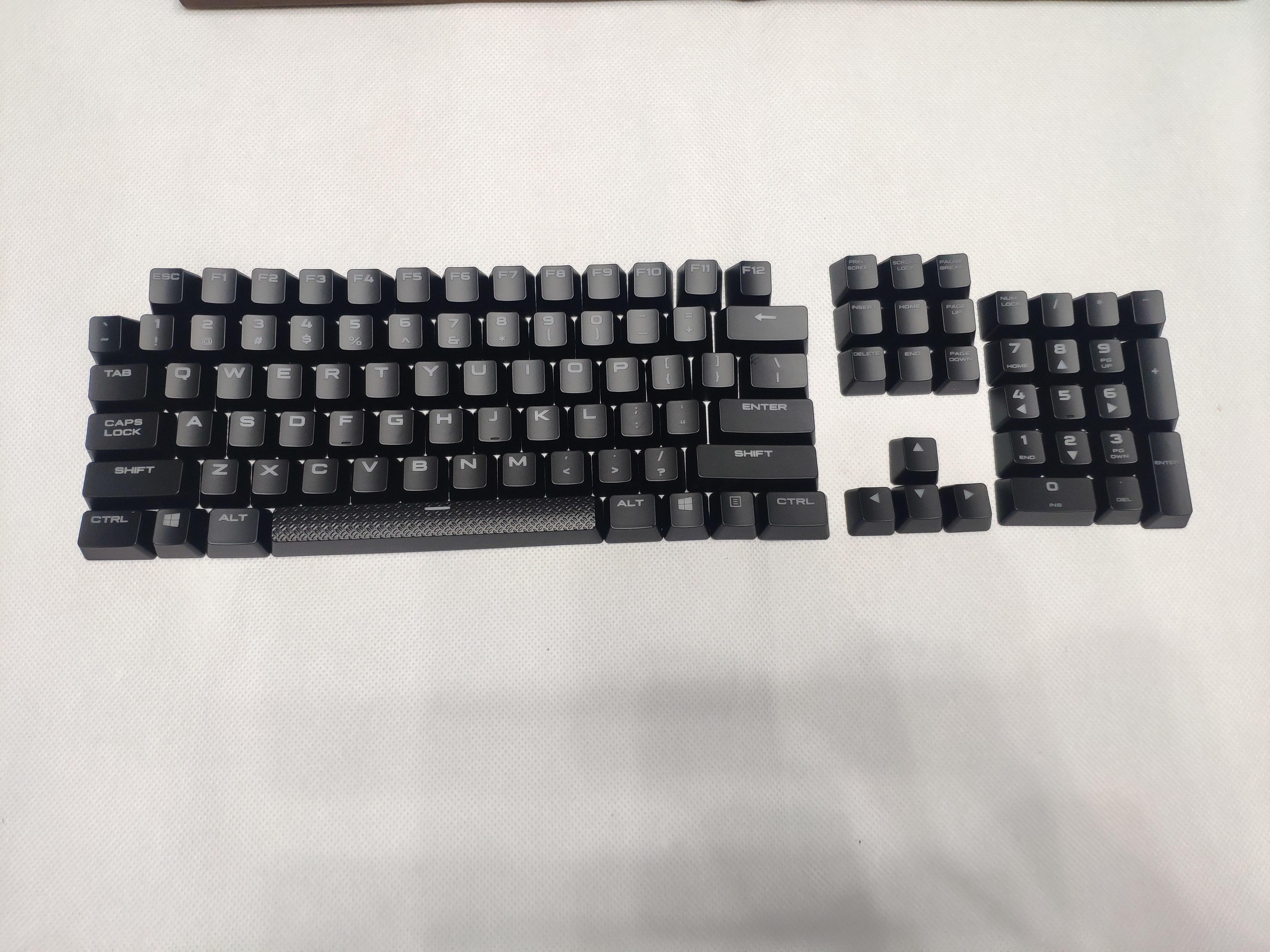 Original key caps for CORSAIR mechanical keyboard K70 LUX/K70 LUX RGB/K95 single key cap can be sold(China)
