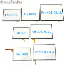 1Pcs Touch Screen Digitizerกระจกเปลี่ยนสำหรับNintendo DS LiteสำหรับNDSL NDSi XLใหม่ 3DS XL