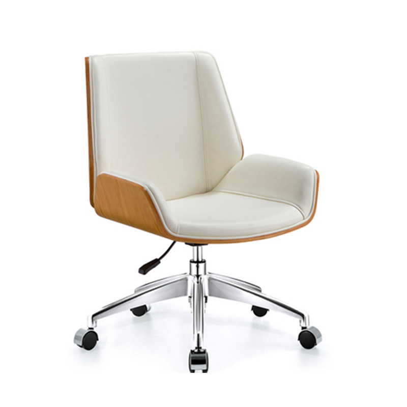 Mid Century Adjustable Desk Executive Swivel Chair Home Office Furniutre Modern Computer Task Chair Bendwood Leather Armchair Office Chairs Aliexpress
