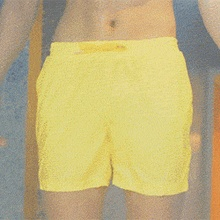 Men Swimming Trunks Bathing-Shorts Beach-Pant Quick-Dry Summer Magical-Change-Color