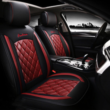 New Luxury PU Leather Auto Universal Car Seat Covers Automotive Seat Covers for toyota lada kalina etc lunasbore new luxury pu leather car seat covers automotive universal for ford escape 2 hyundai solaris lada priora kalina granta