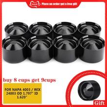"""Pcmos алюминиевые автомобильные стаканы для хранения для NAPA 4003/WIX 24003 OD 1,79"""" ID 1,620"""" интерьерные аксессуары Автомобильные топливные фильтры"""