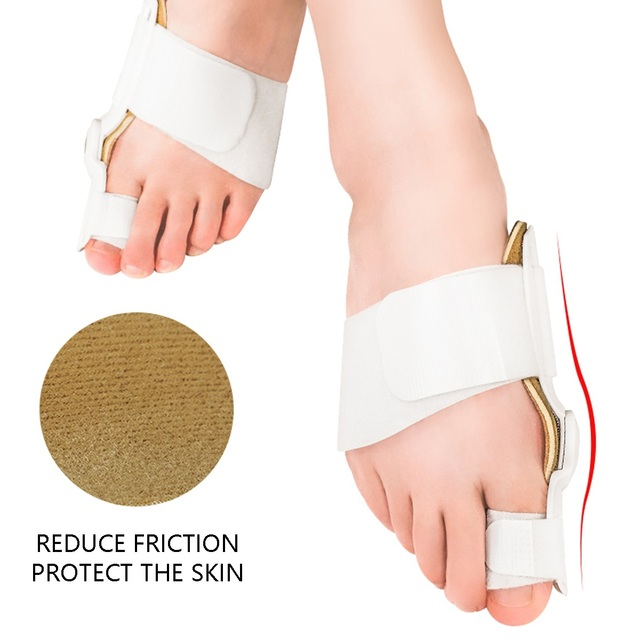 USA 2Pcs Toe Protector Feet Care Pedicure Tool Bunion Hallux Valgus Corrector Orthopedic Supplies Big Toe Splint Straightener 4