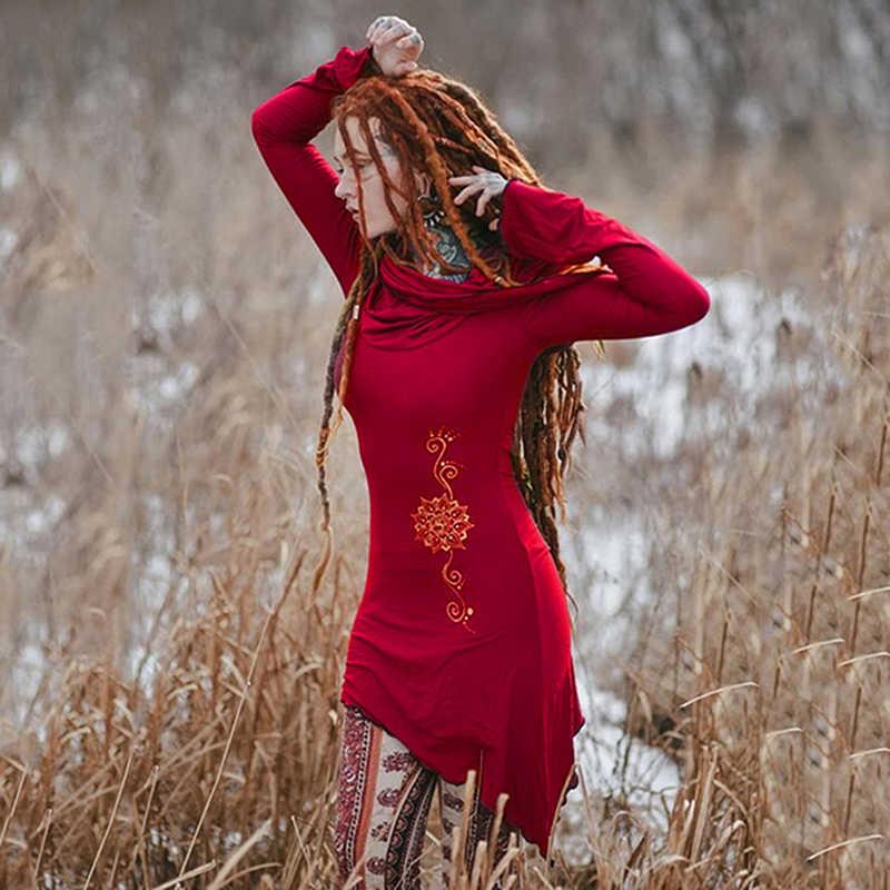 ใหม่แฟชั่นผู้หญิงฤดูใบไม้ร่วงฤดูใบไม้ร่วง Hoodies เสื้อเสื้อแขนยาวสีดำ Pullovers Hooded หญิง