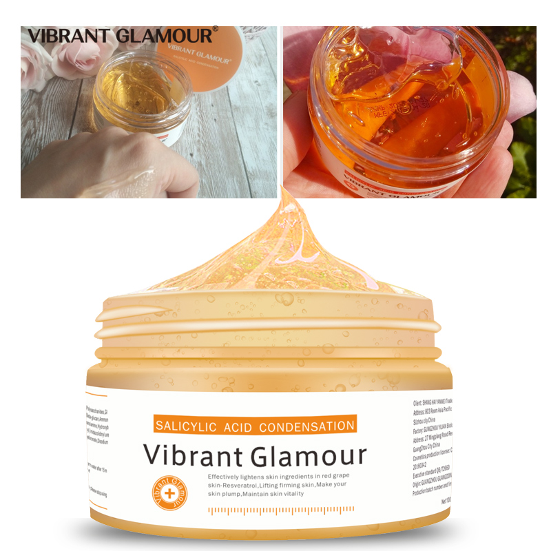 VIBRANT GLAMOUR Salicylic Acid Perfecting Gel Face Mask Remove Acne Scar Relieve Sensitive Shrink Pores Deep Purifying Face Care