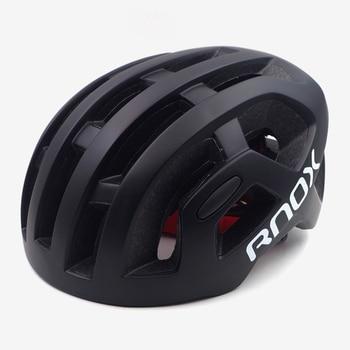 Rnox ultraleve dos homens ciclismo capacete octal preto mtb mountain road bicicleta capacete para adulto 55-61cm equipamento de corrida da bicicleta 1