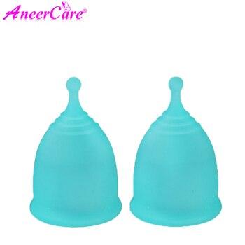 Vaso de higiene para mujeres, vaso menstrual de silicona de grado médico,...