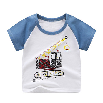 boy's cotton t-shirt lift