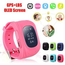 цена на Anti-Lost Q50 Child Smart Watch Safe GPS Location SOS Tracker SIM Card Call Positioning OLED Smart Watch Compatible IOS Android