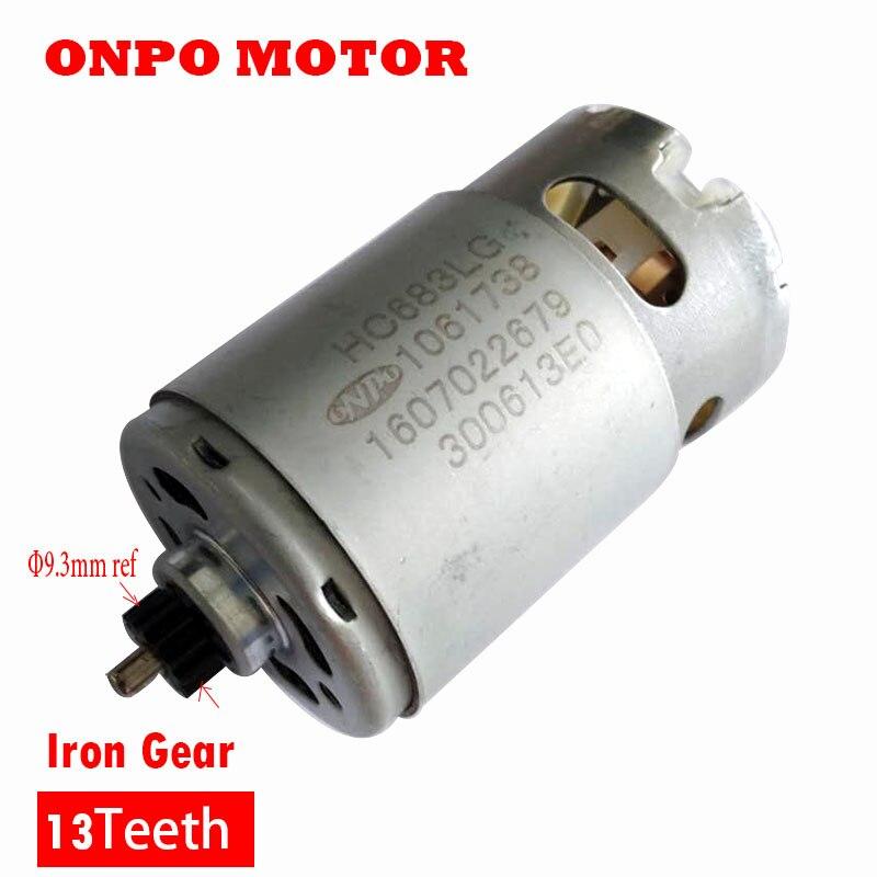 Motor 1607022679 hc683lg 1061738 do dente 12 v 13 para o motorista bonde da broca da mão de bosch