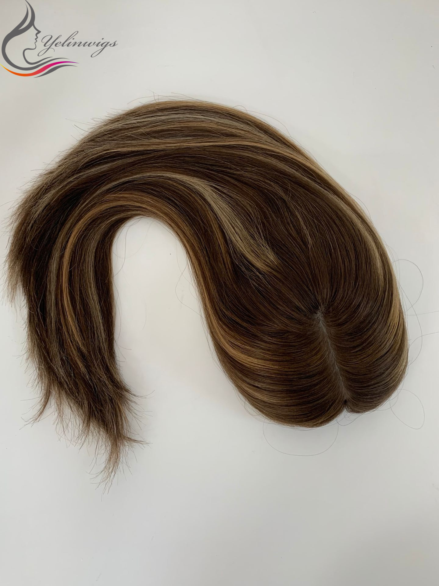 Ht Sale European Virgin Hair Topper Women Hair Pieces Best Selling Kippah Fall Whopper