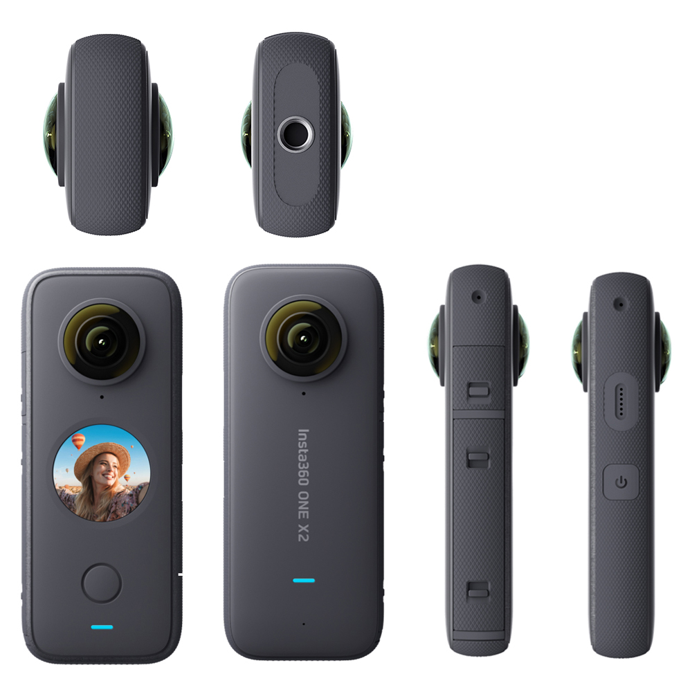 Insta360 One X2 360 Action Camera 5.7K VR Video 10M Waterproof Insta 360 One X2 Pocket Panorama Underwater Helmet Pro  Sport Cam-5