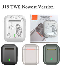 Original J18 Tws In ear Blutooth Earphones Mini Wireless Sport Headset Stereo earbuds Headphones fone de ouvido auriculares
