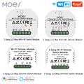 1/2 Way 1/2 банды Мини WiFi смарт-светильник релейный модуль Smart Life Tuya беспроводной пульт дистанционного управления работа с Alexa Google Home