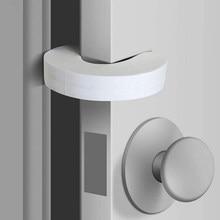 6 pces c forma eva porta pára infantil anti-lesões protetor de porta acessórios de proteção de segurança do bebê