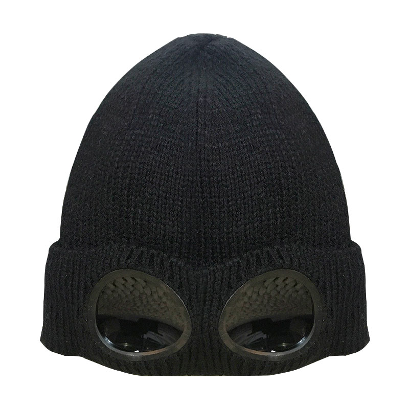 Men and Women Warm Winter Knitted Hat Outdoor Ski Cap,