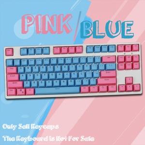 Image 4 - Механическая клавиатура с двойной подсветкой, 104/87 клавиши PBT, Большая универсальная Колонка F для Ikbc Cherry MX, механическая клавиатура