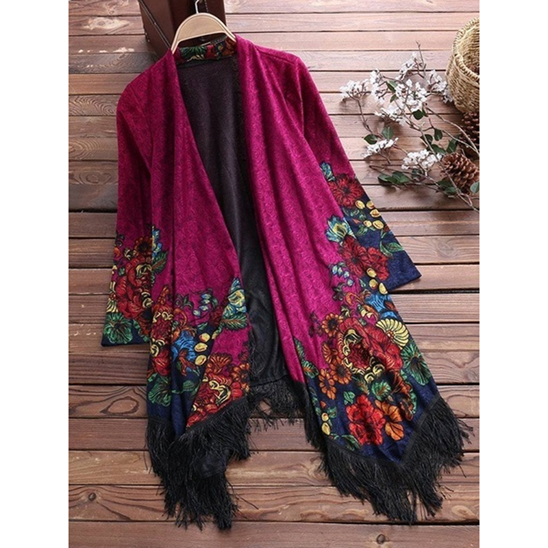 Fashion Outside Shawl Top Large Size Shirt Embroidered Ladies Autumn Luxury Women Shirt Loose