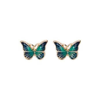 Cute Green Enamel Butterfly Stud Earrings Delicate Gold Color Mini Ear Studs Trendy Women Ear Nails.jpg 350x350 - Cute Green Enamel Butterfly Stud Earrings Delicate Gold Color Mini Ear Studs Trendy Women Ear Nails Jewelry Gift